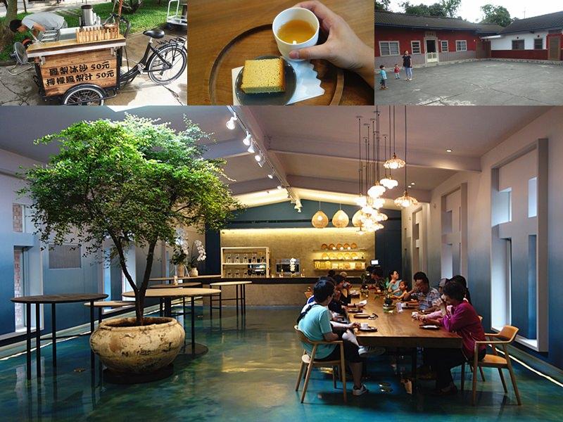 微熱山丘|南投是最知名人潮聚集景點!清新高雅內用區,藍綠色清涼感內用區,改試吃蜂蜜蛋糕。
