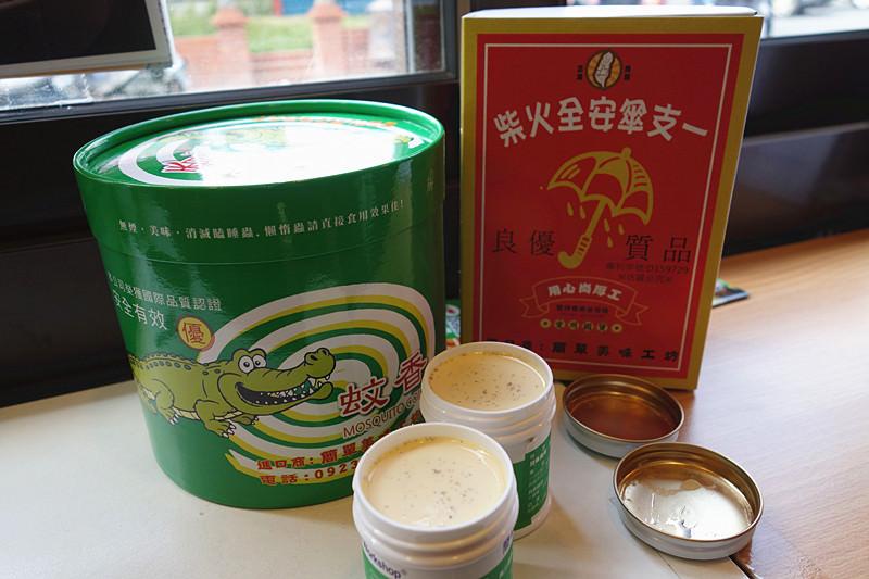 鹿港簡單美味工坊 必買超可愛小護士布丁,內含香草籽;可以吃的蚊香、火柴巧克力棒!IG打卡/可愛復古感兼具創意感點心屋。