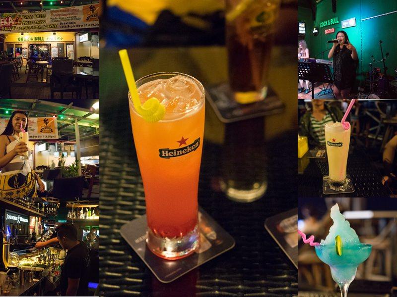 馬來西亞沙巴酒吧推薦Cock N Bull Waterfront|異國的夜晚就到酒吧小酌一番,吹著涼涼海風,馬來西亞沙巴票選第一名酒吧。