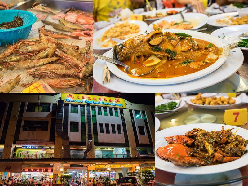 大茄來海鮮餐廳Welcome Seafood Restaurant|馬來西亞沙巴亞庇必吃美食,一起來大快朵頤吃海鮮!