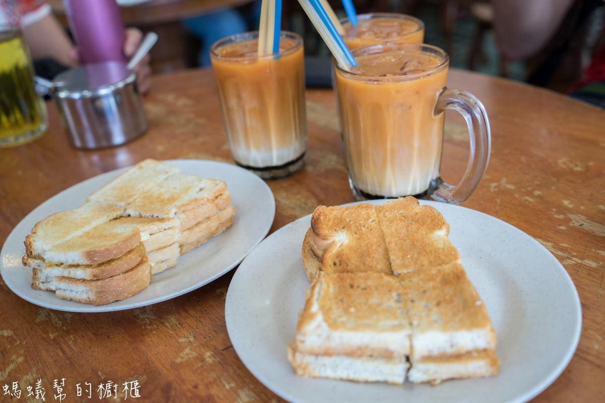 沙巴美食馮業茶室|加雅街美食推薦,獨門叻沙、咖椰醬吐司、三色奶茶,週日順道逛加雅街市集。