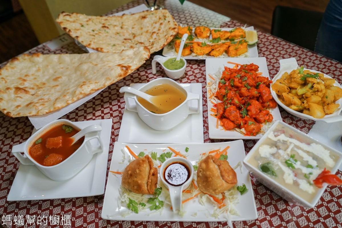 台中斯里印度餐廳Sree India Palace | 台中道地印度料理推薦,印度主廚家鄉菜,推薦必吃烤餅、咖哩,來場異國風味之旅。