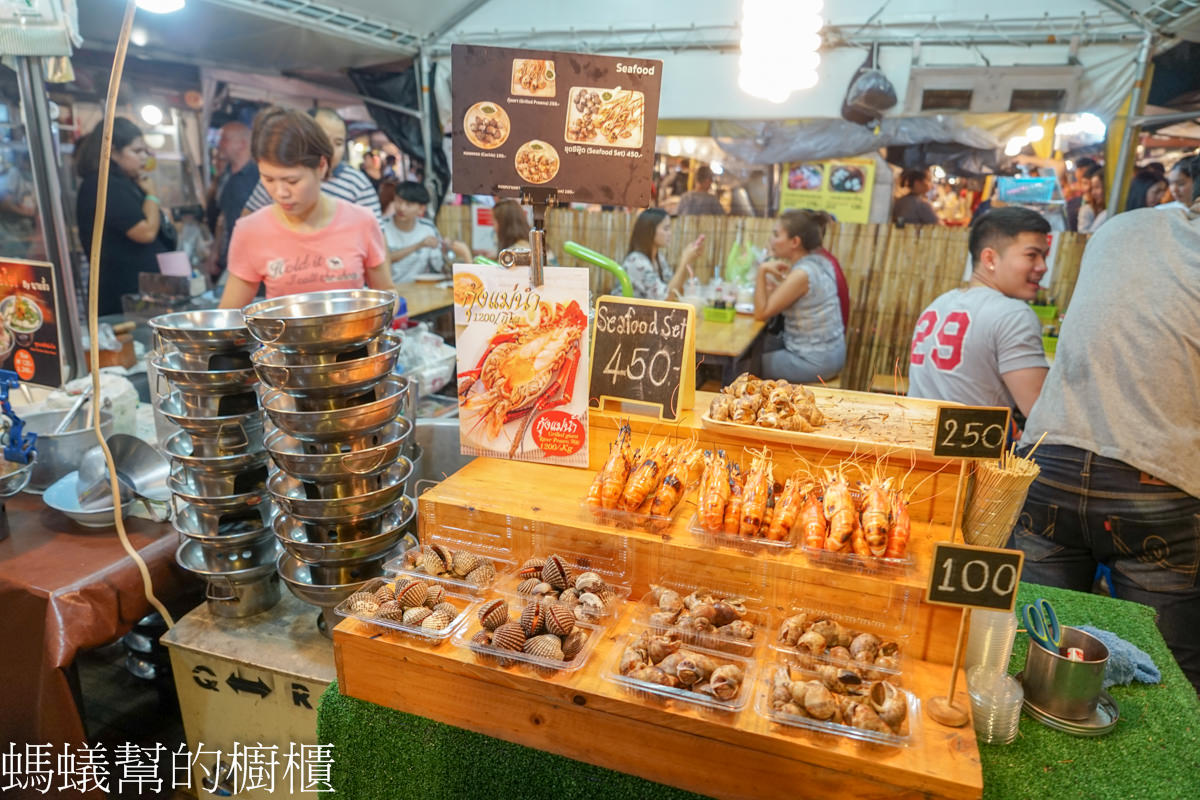 曼谷 Ratchada Train Night Market 拉差達火車夜市