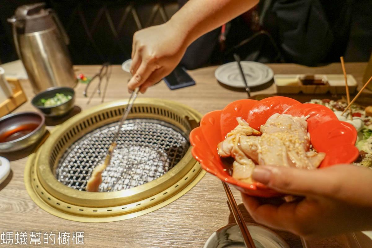 台中麗寶燒肉同話