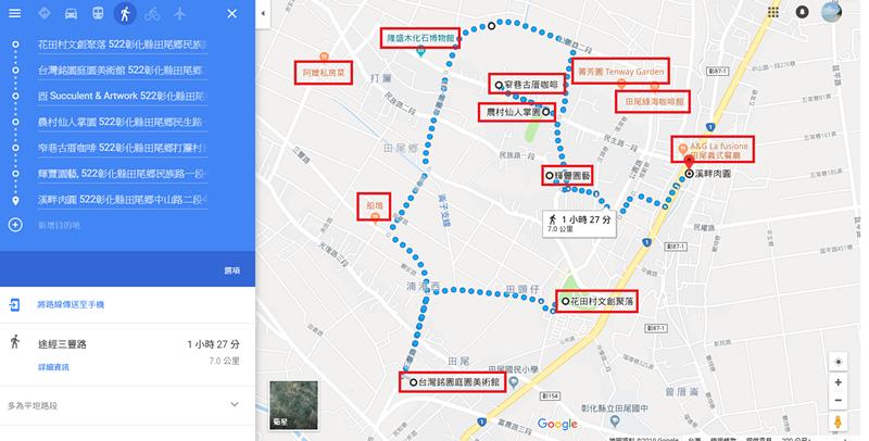 彰化田尾景點美食一日遊
