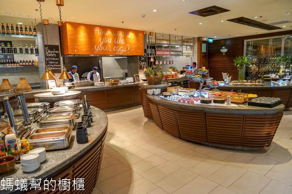 Sheraton Hua Hin Resort & Spa早餐