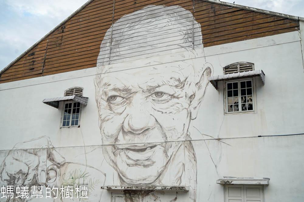 舊街場壁畫