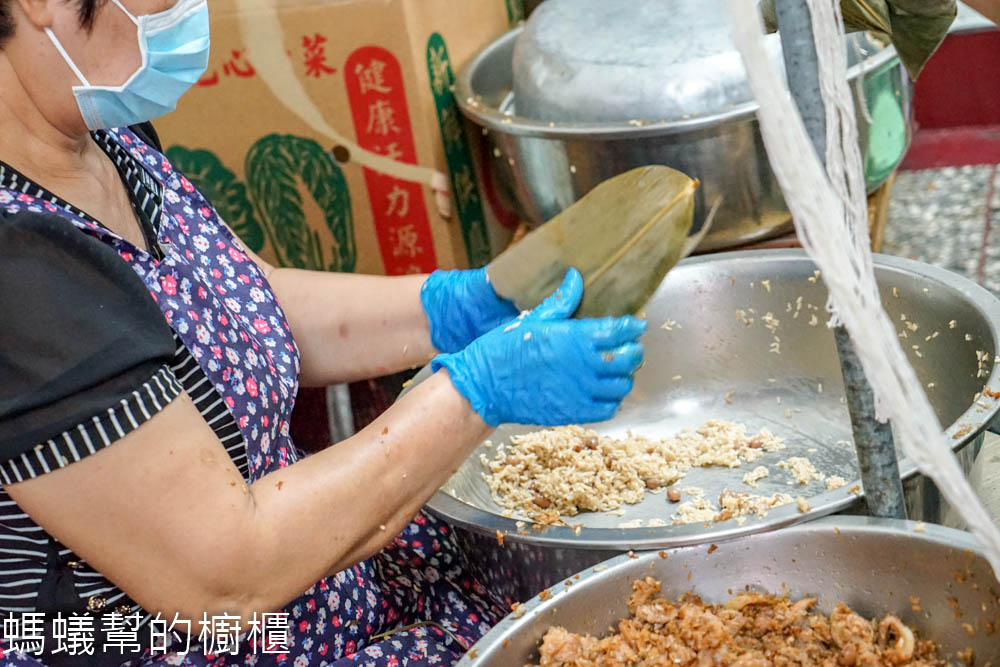 田中廟邊肉粽