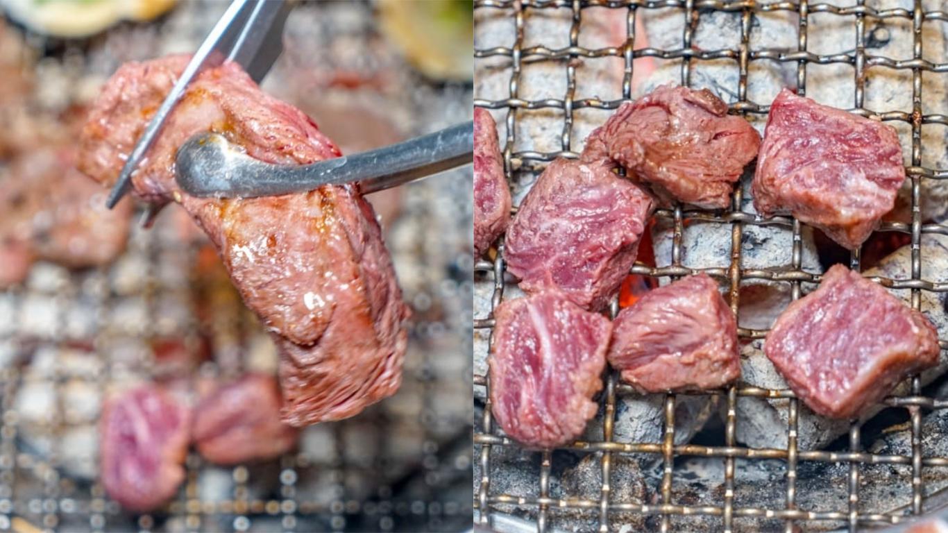 羊角炭火燒肉